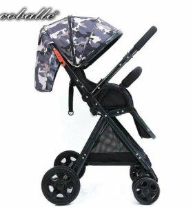 Модная коляска с перекидной ручкой