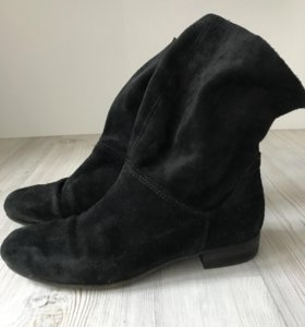 Замшевые ботинки демисезон