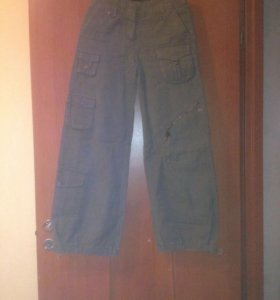 Широкие брюки 42-44 р.