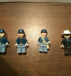 "Комплект фигурок Лего "" Одинокий Рейнджер """