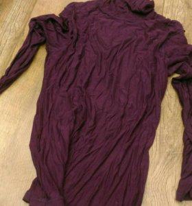 Фиолетовая водолазка унисекс