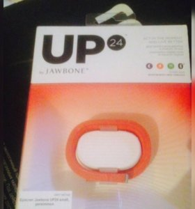 Браслет Jawbone UP24 Persimmon onyx размер S