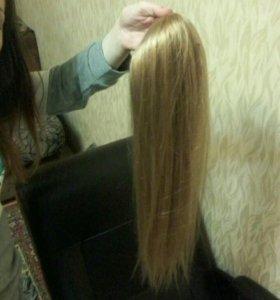 Новые волосы золотисто русые hair shop