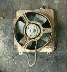 Вентилятор радиатора на ваз.