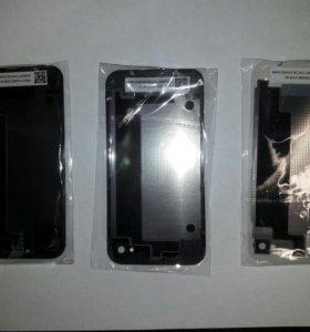 Задняя крышка для iPhone 4s, 4.черная, белая