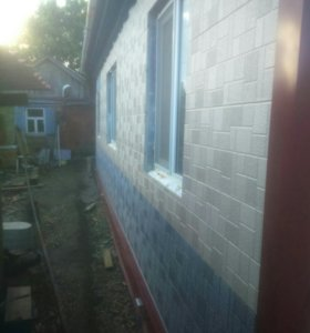 Фасадные и кровельные работы.