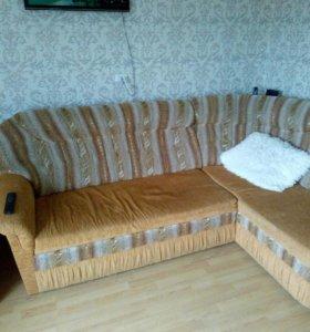 Мягкая угловая мебель
