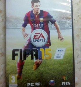 Продам, диск FIFA 15 на PC.