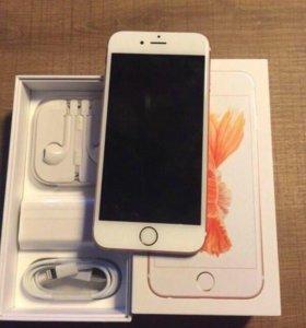 Продаю айфон 6s 16gb rose gold в идеальном состоян
