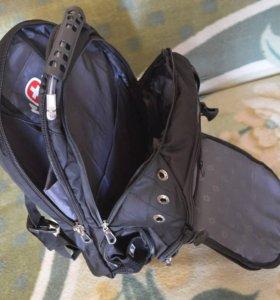 Крепкий рюкзак SwissGear с чехлом
