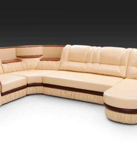 Перетяжка мягкой мебели полностью или частично