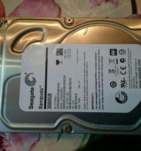Hdd Seagate barracuda 3000gb