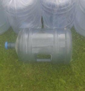 Бутылка пластиковая 19л.