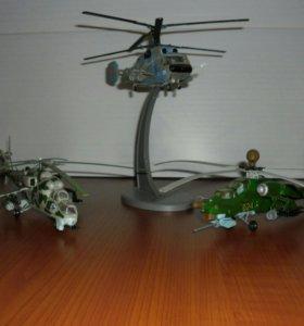 Коллекция пластиковых моделей