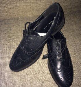 Новые туфли New Look Нат кожа