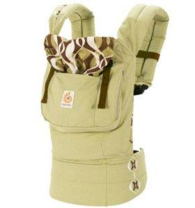 Эрго-рюкзак ergo baby bamboo forest, новый