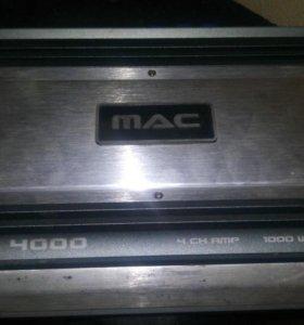Автомобильный усилитель MAC AUDIO