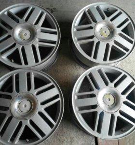Литые диски на R-16 Форд Фокус 2.