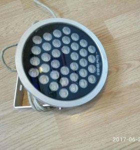 Низковольтный прожектор RGB
