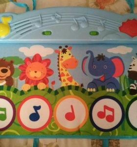 Музыкальный коврик для малыша