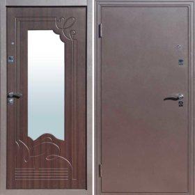 Входная дверь. Ампир Венге. Зеркало.