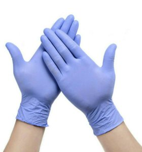 Перчатки нитриловые 100шт