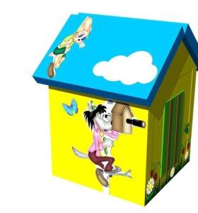 Мягкий домик для детей Ну-погоди!