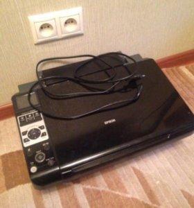 МФУ Epson Stylus CX8300 с картриджами