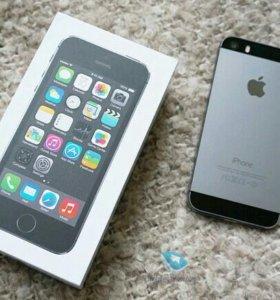 Айфон 5s 32GB золотой цвет