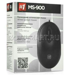 мышь Defender MS-900 Black USB