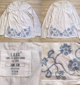 Кофта-блуза-рубашка H&M L.O.G.G.