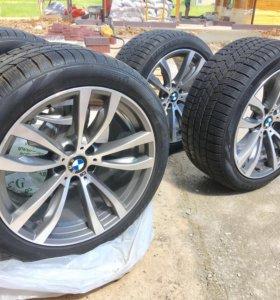комплект колёс для BMW X5 / X6 M зима липучка