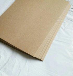 Крафт бумага А4, 100 листов