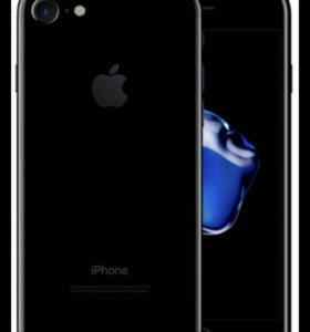 Айфон7 чёрный мат