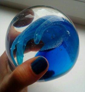 Стеклянный шар сувенир