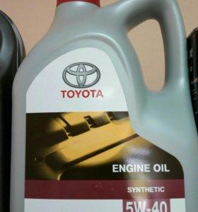 Моторное масло TOYOTA 5W-40 5L. оригинал