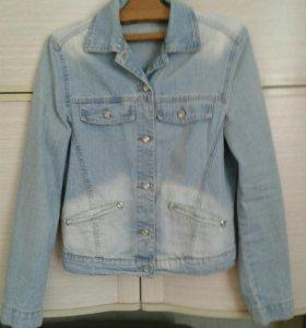 Куртка джинсовая размер 44