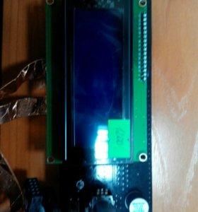 LCD экран 20х4 для 3d принтера