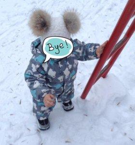 Детский зимний комбинезон Crockid