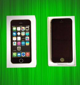 iPhone 5s 16 gb + чехол в подарок.