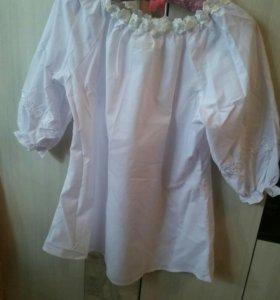 Новая блузка.