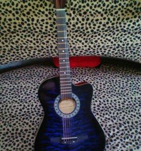 Гитара новая 6-ть струн