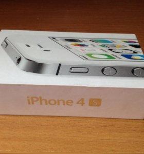 iPhone 4s белый 8г
