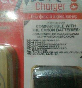 Зарядное устройство для видео камер и фотоопаратов