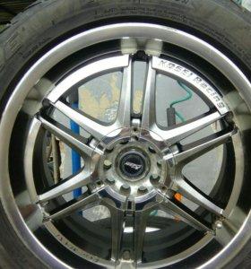 Колёса в сборе 215/50/R17 Kosei Racing (ford)