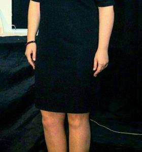 Платье чёрное 48-50