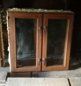 Окна деревянные б.у