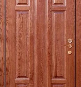 Входная дверь мдф шпон