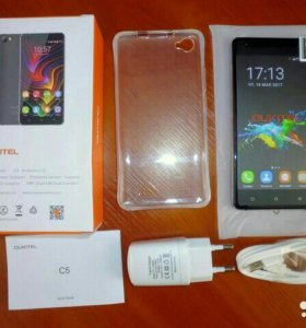 "Oukitel c5, 5"", 2/16гб, 8мп, 3G, новый, гарантия"