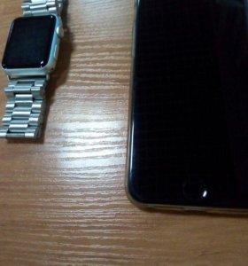 Телефон и часы